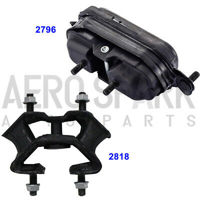 M760 Motor /& Trans Mount Set For 00-11 Buick Allure// LaCrosse// Chevy Impala