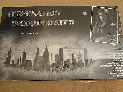 Termination Incorporated Board Game - Andy Wood - Strategy Shootout - New Sealed