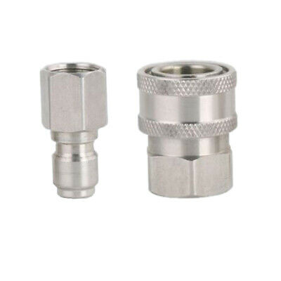 Stainless Steel 3/8 Male Female Quick-connect Combination Water Hose Fitting
