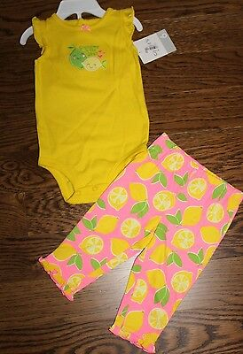 NWT Carter's 2pc set for baby girl 6mos