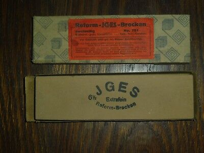 alter IGES / JGES Reform Brocken Extrafein 6 1/2 No. 701 zweiseitig I2