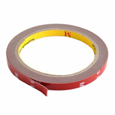 Double Sided Foam Tape 3M Acrylic Auto 10ft Long Roll Doublesided Mounting 8mm