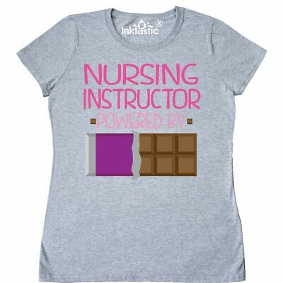 b2e05e6f1a Inktastic Nurse Instructor Funny Gift Women's T-Shirt Retired Occupation  Job By