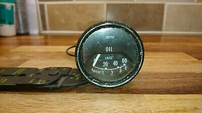 Classic Smiths Oil Pressure Gauge Electric Mini Land Rover 52mm
