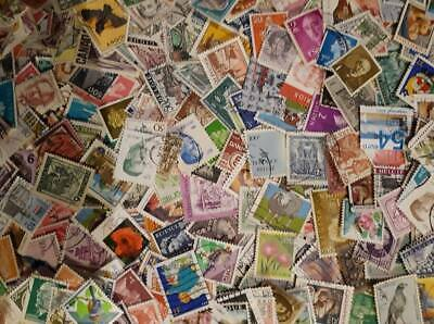 lot 300 mixed world stamps