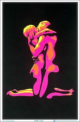 Lovers Blacklight Poster 23 x 35