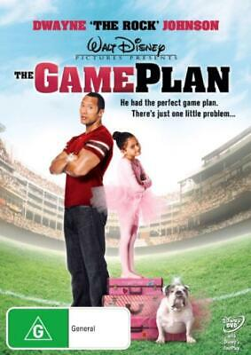 The Game Plan (DVD, 2008), NEW SEALED AUSTRALIAN RELEASE REGION 4