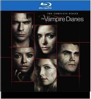The Vampire Diaries: The Complete Series 1-8 blu-ray box set USA Version RegionA
