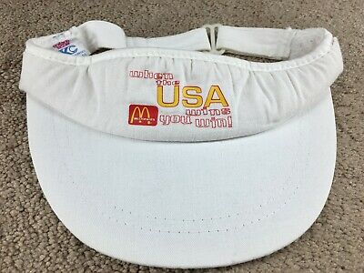 Vintage 1980/'s McDonald/'s Employee Visor Unused Warehouse Stock !