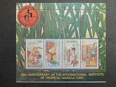 Nigeria 1992 25th Anniversary of Institute of Tropical Agriculture SG MS637 MNH