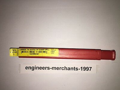 Dormer R002 8.50MM Solid Carbide TiN Straight Shank Jobber Drill