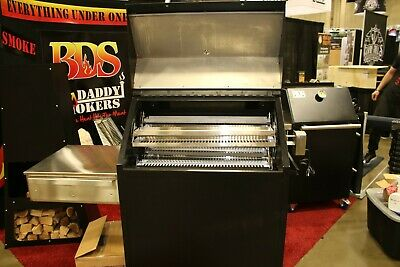"BBQ Smoker ""Big Daddy"" Smoker - Rotisserie - Grill - AL IN ONE!!! Made in USA"