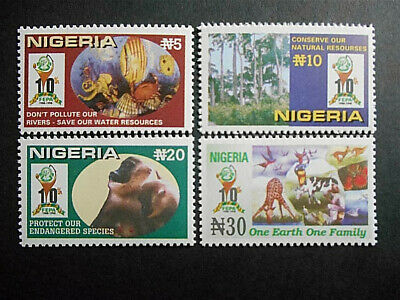 Nigeria 1999 FEPA Federal Environmental Protection Agency set SG 742-5 MNH
