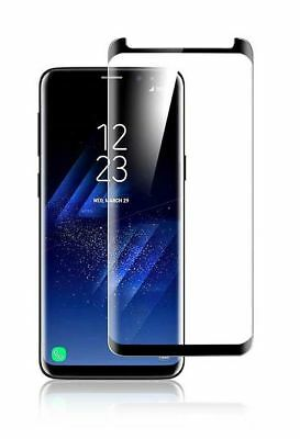 Full Display Schutz Glas für Samsung Galaxy S8 + Curved 3D Cover Panzerfolie 9H