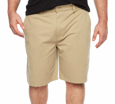 NWT New Mens size 44 52 SHORTS stretch khaki big /& tall foundry flat stone tan