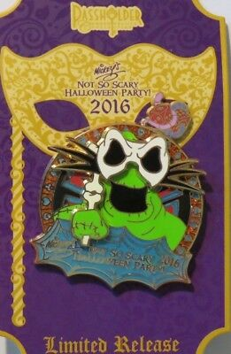 Disney Wdw Not So Scary Halloween 2016 Nightmare Before Christmas Oogie Pin