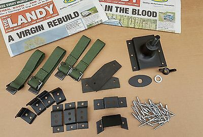 LANDROVER SERIES LIGHTWEIGHT PIONEER TOOL FITTING KIT.(new uk made complete )