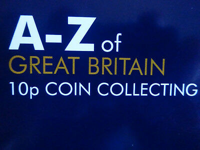 A-Z Alphabet 10p COIN Series 2018 - All 26 UNCIRCULATED INDIVIDUAL COINS