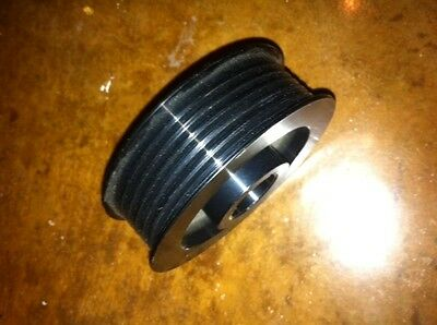 "Powerdyne Vortech Premium 6-rib Pulley 3.00/"" with Sur-Grip® by 928 Motorsports"