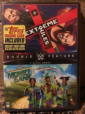 WWE: Extreme Rules/Money In The Bank 2017 [New DVD] 2 Pack WWF