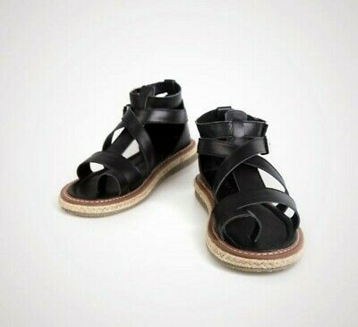 Mens Summer Roman Flips Flop Buckle Gladiator Leisure Leather Sandals Shoes News