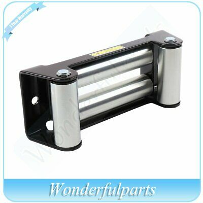"ATV UTV OffRoad Winch Roller Fairlead 4 Way Cable Guide 10"" Bolt Pattern"
