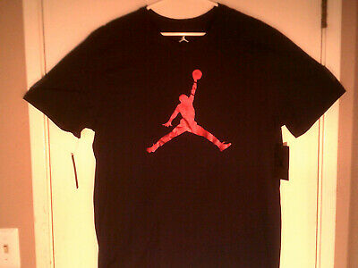 a62491d57cef NIKE MEN S AIR Jordan Embroidered Jumpman Shooting Long Sleeve Red T ...