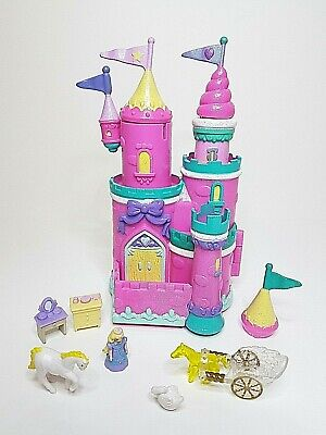Vintage 1995 trendmasters Starcastle Cosmetic Salon Castle - style polly pocket