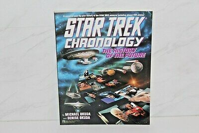 STAR TREK - CHRONOLOGY ( the history of the future ) - POCKET BOOKS  1993