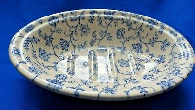 Crabtree & Evelyn Blue and White Soap Dish