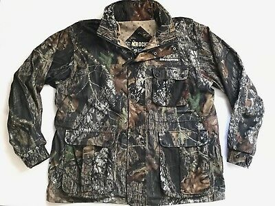 31dc7390754ac ROCKY Prohunter Scent IQ Mens XL Insulated Camo Hunting Jacket Coat Mossy  Silent