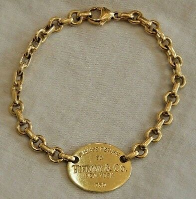 cfc3f38a9 Retired Tiffany & Co 18K Yellow Gold