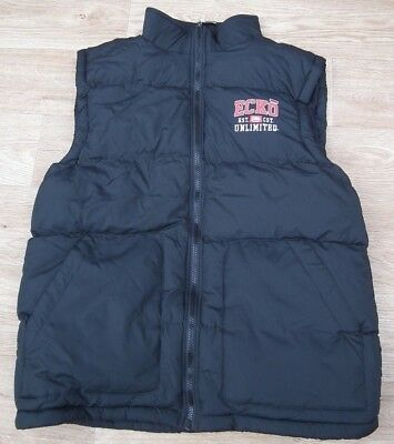 Mens New Ecko Gilet Padded Hooded Body Warmer Winter Sleeveless Jacket MCLAREN