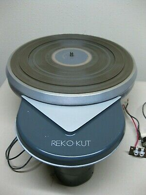 Vintage Rek-O-Kut Model K-33 Turntable, Build Your Own, Nice Condition