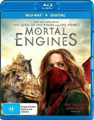 Mortal Engines Blu-ray + Digital BRAND NEW Region B
