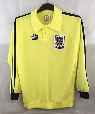 England GK Player Issue Intermediate Football Shirt 1974/81 Adults Large Admiral