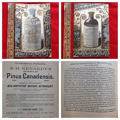 1800's QUACK MEDICINE PENUS CANADENSIS BOOKLET FOR COITIS PAIN & MORE!