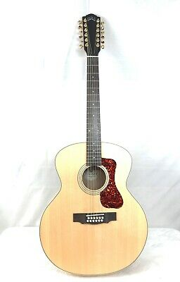 Strong Packing Flight Tracker Guild 12 String Acoustic-electric Guitar gad F-212