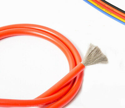 UL Multi-Strand Silicone Cable Flexible Wire 0.08mm 600V 200℃ 2//4//6//7//11-17awg