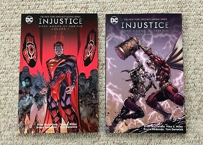 Injustice Gods Among Us: Year Five Vol. 1 & 2 Tpbs Superman! Harley Quinn!