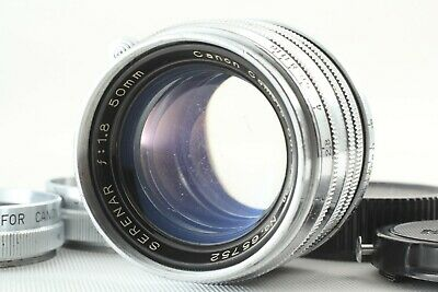 *exc+++* Canon Serenar Chrome  50Mm F/1.8 Ltm L39 Rangefinder Lens From Japan