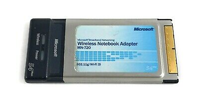 NEW DRIVERS: WIRELESS NOTEBOOK ADAPTER MN 720