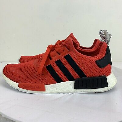 fbf00860febae Adidas NMD R1 Nomad Core Red Black White BB2885 Running Shoes US Men Size 13