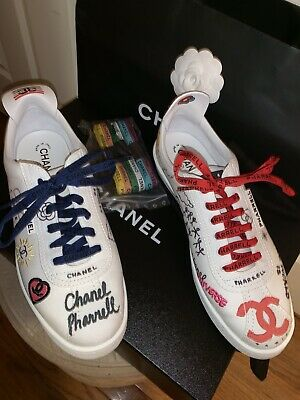 5aabdba44 100% AUTH Chanel X Pharrell - Capsule Collection Men Sneakers Sz. 43 Euro