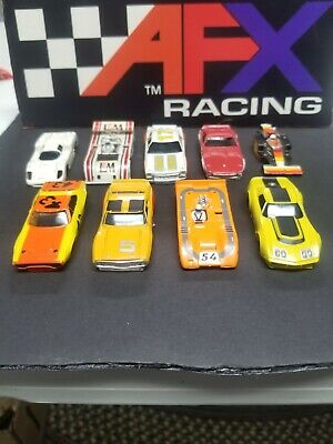 VINTAGE LOT OF Aurora Afx H o Slot Car Body Only (9)