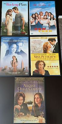 DVD Lot A-8:August: Osage Country,Main in Manhattan,Now & Then, The Back-Up Plan