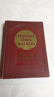 "1940-41 "" MUNICIPAL INDEX AND ATLAS ""  Ads and Photos from Vintage Manufactures"