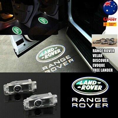4x Door Light for Land Rover Range Welcome Logo Ghost Shadow LED Courtesy Laser