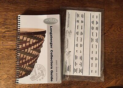 Longaberger 2007 2008 Bentley Guide Next To Last Edition With New Tabs