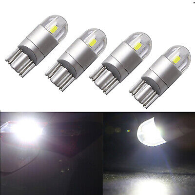 4X  T10 3030 2SMD COB LED Canbus Light Car Truck Cold White 6000k Replacement
